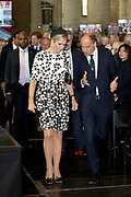 Koningin Máxima opent Asian Library Universiteit Leiden gehouden  in de Pieterskerk in Leiden<br /> <br /> Queen Máxima opens Asian Library Leiden University held in the Pieterskerk in Leiden
