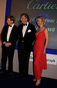 hon Peter Stanley, Arnaud Bamberger and the Countess of Derby. The 2004 Cartier Racing awards, Four Seasons Hotel. London. 17 November 2004. ONE TIME USE ONLY - DO NOT ARCHIVE  © Copyright Photograph by Dafydd Jones 66 Stockwell Park Rd. London SW9 0DA Tel 020 7733 0108 www.dafjones.com