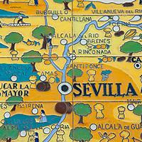 Street scenes in Seville in May
