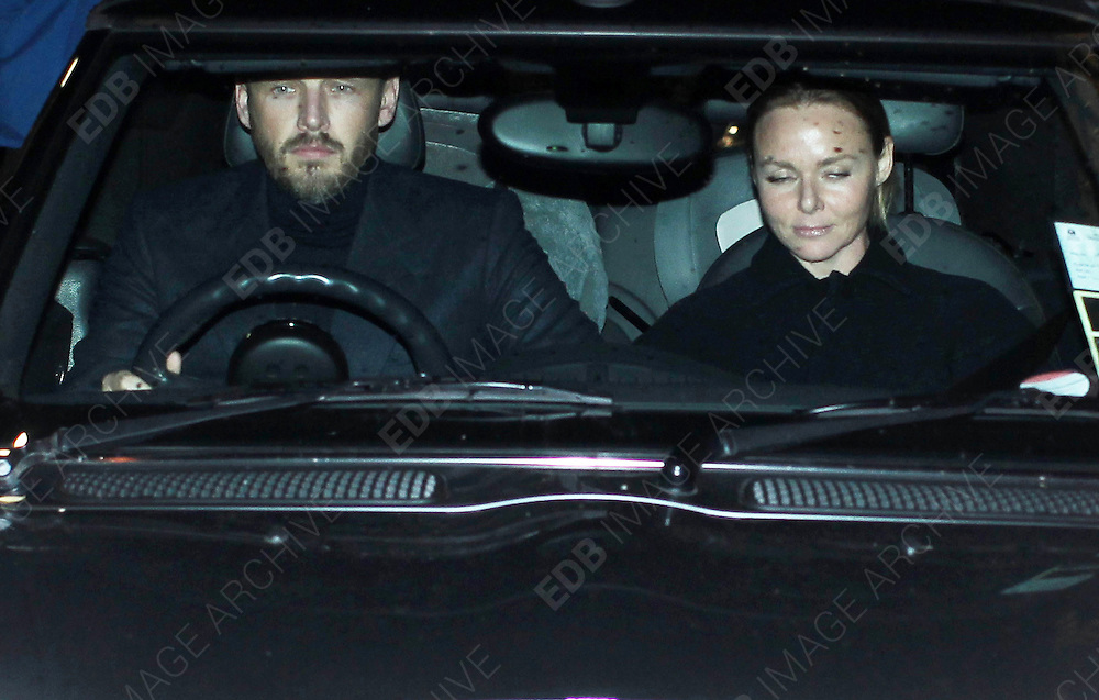 03.OCTOBER.2012. LONDON<br /> <br /> STELLA McCARTNEY AND HUSBAND ALASHDAIR WILLIS LEAVING GWYNETH PALTROW'S 40TH BIRTHDAY PARTY AT THE RIVER CAFE, THAMES WALK IN LONDON.<br /> <br /> BYLINE: EDBIMAGEARCHIVE.CO.UK<br /> <br /> *THIS IMAGE IS STRICTLY FOR UK NEWSPAPERS AND MAGAZINES ONLY*<br /> *FOR WORLD WIDE SALES AND WEB USE PLEASE CONTACT EDBIMAGEARCHIVE - 0208 954 5968*