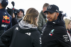 October 18, 2018 - Austin, United States - HAMILTON Lewis (gbr), Mercedes AMG F1 Petronas GP W09 Hybrid EQ Power+, portrait during the 2018 Formula One World Championship, United States of America Grand Prix from october 18 to 21 in Austin, Texas, USA -  /   Motorsports: FIA Formula One World Championship; 2018; Grand Prix; United States, FORMULA 1 PIRELLI 2018 UNITED S GRAND PRIX , Circuit of The Americas  (Credit Image: © Hoch Zwei via ZUMA Wire)