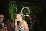 Henrietta Ludgate, Quintessentially Summer party, Debenham House. Addison Rd. London. 15 June 2006. ONE TIME USE ONLY - DO NOT ARCHIVE  © Copyright Photograph by Dafydd Jones 66 Stockwell Park Rd. London SW9 0DA Tel 020 7733 0108 www.dafjones.com