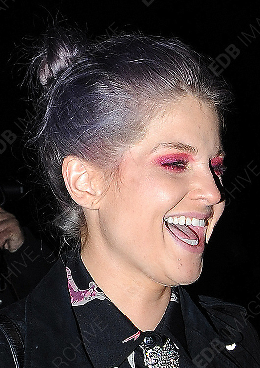 17.SEPTEMBER.2012. LONDON<br /> <br /> KELLY OSBOURNE LEAVING THE SERPENTINE GALLERY IN KENSINGTON GARDENS AFTER ATTENDING THE FUTURE CONTEMPORARIES LFW PARTY.<br /> <br /> BYLINE: EDBIMAGEARCHIVE.CO.UK<br /> <br /> *THIS IMAGE IS STRICTLY FOR UK NEWSPAPERS AND MAGAZINES ONLY*<br /> *FOR WORLD WIDE SALES AND WEB USE PLEASE CONTACT EDBIMAGEARCHIVE - 0208 954 5968*