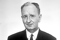 Bertie McConnell aka Robert Dodd McConnell, Bangor, Co Down, N Ireland, elected Independent Unionist MP in N Ireland Parliament March 1969. He later transferred his political allegiance to the N Ireland Alliance Party. A former British Army officer he lost his sight during World War II. 196903000111<br /> <br /> Copyright Image from Victor Patterson,<br /> 54 Dorchester Park, Belfast, UK, BT9 6RJ<br /> <br /> t1: +44 28 90661296<br /> t2: +44 28 90022446<br /> m: +44 7802 353836<br /> <br /> e1: victorpatterson@me.com<br /> e2: victorpatterson@gmail.com<br /> <br /> For my Terms and Conditions of Use go to<br /> www.victorpatterson.com