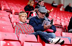Sheffield United fans take their seats at Bramall Lane - Mandatory by-line: Robbie Stephenson/JMP - 19/08/2017 - FOOTBALL - Bramall Lane - Sheffield, England - Sheffield United v Barnsley - Sky Bet Championship