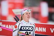 KUUSAMO, FINLAND - 2017-11-26: Evelina Settlin, Sverige under damernas l&auml;ngdkid&aring;kning 10km jaktstart under FIS World Cup Ruka Nordic p&aring; Ruka Stadium den 26 November, 2017 i Kuusamo, Finland.<br /> Foto: Nils Petter Nilsson/Ombrello<br /> ***BETALBILD***