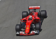 Sebastian Vettel of Scuderia Ferrari during the qualifying session for the Russian Formula One Grand Prix at Sochi Autodrom, Sochi, Russia.<br /> Picture by EXPA Pictures/Focus Images Ltd 07814482222<br /> 29/04/2017<br /> *** UK &amp; IRELAND ONLY ***<br /> <br /> EXPA-EIB-170429-0064.jpg