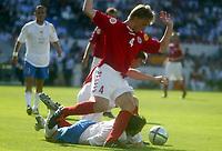 Fotball<br /> Euro 2004<br /> Portugal<br /> 14. juni 2004<br /> Foto: Dppi/Digitalsport<br /> NORWAY ONLY<br /> Italia v Danmark<br /> MARTIN LAURSEN (DEN) / ALESSANDRO DEL PIERO (ITA)