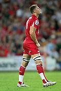 Scott Higginbotham. Queensland Reds v NSW Waratahs. Investec Super Rugby Round 10 Match, 24 April 2011. Suncorp Stadium, Brisbane, Australia. Reds won 19-15. Photo: Clay Cross / photosport.co.nz