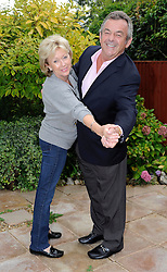 Golf Legend And Strictly Come Dancing 2013 Contestant Tony Jacklin. Pictured At With His Wife Astrid at His Rented Hertfordshire Home, Radlett, United Kingdom, 20th September 2013. Picture by i-Images