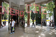 "Giardini. French Pavillion. ""GénéroCité"". The mirror entrance."