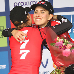01-11-2019: Wielrennen: DVV trofee Veldrijden: Koppenberg: Yara Kastelijn wint de Koppenbergcross voor Annemarie Worst en Alice Maria Arzuffi