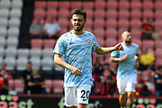 Bernardo Silva (20) of Manchester City warming up before the Premier League match between Bournemouth and Manchester City at the Vitality Stadium, Bournemouth, England on 26 August 2017. Photo by Graham Hunt.