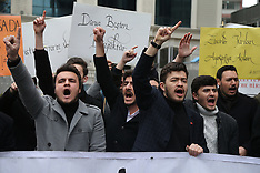 New Zealand Mosque Shooting Protests - Istanbul 17 Mar 2019