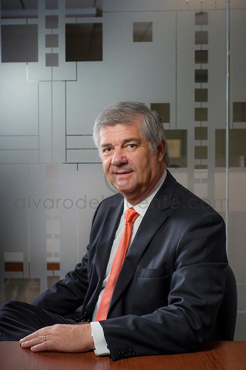 Jaime Uribe, Gerente de Marketing y Sustentabilidad, Banco Itaú. Santiago de Chile. 25-03-2014 (Alvaro de la Fuente/Triple.cl)