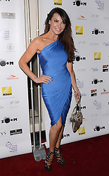 Lizzie Cundy attends Zoom F1 Charity Auction and Reception at The InterContinental Hotel, Park Lane, London on Friday 16 January 2015