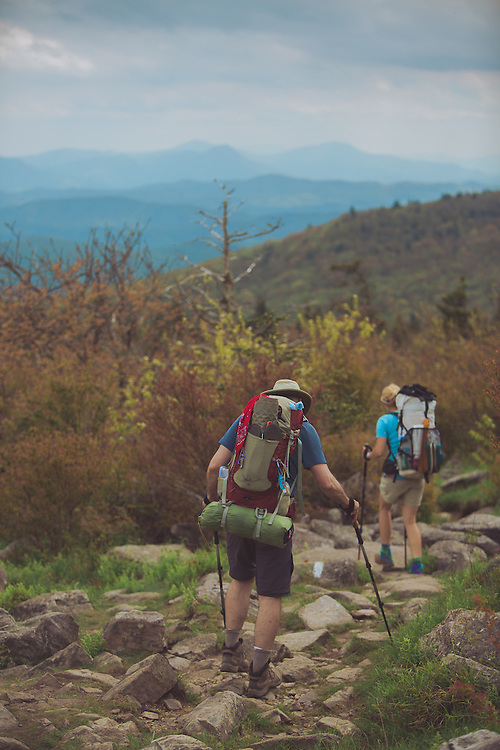 Grayson highlands state park, Mount Rogers, hikers, ponies, virginia state parks