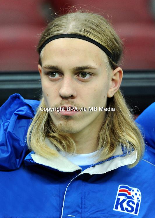 Uefa Euro FRANCE 2016 - <br /> Iceland National Team - <br /> Elias Mar Omarsson