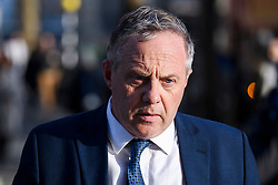 © Licensed to London News Pictures. 20/02/2019. London, UK. Labour MP JOHN MANN is seen in Westminster, London following a Radio interview. 8 Labour MPs and 3 Conservative MP's have resigned form their respective parties to Join the newly formed Independent Group. Photo credit: Ben Cawthra/LNP