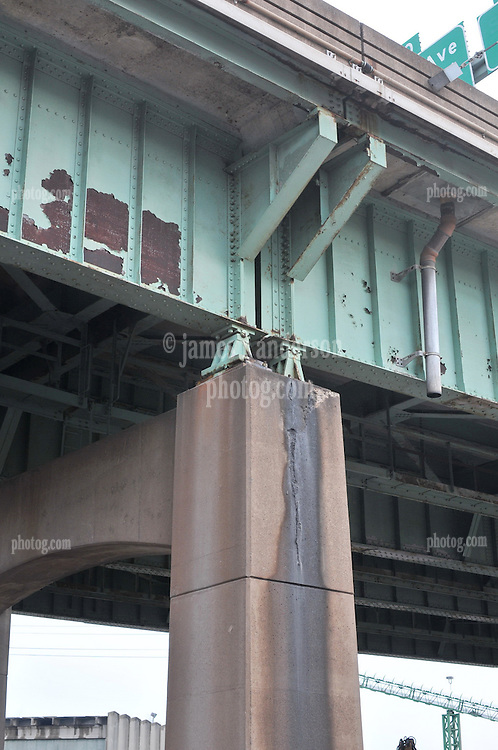 Pearl Harbor Memorial Bridge Project 18 December 2008. Condition of the Old Q Bridge