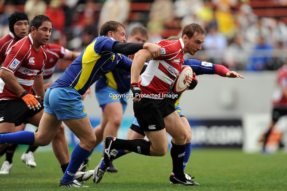 Shaun Webb (JPN), APRIL 25, 2009 - Rugby : HSBC Asian 5 Nations 2009 between Japan 87-10 Kazakhstan at Kintstsu Hanazono Rugby Grouns, Tokyo, Japan. (Photo by Atsushi Tomura/AFLO SPORT) [1035]
