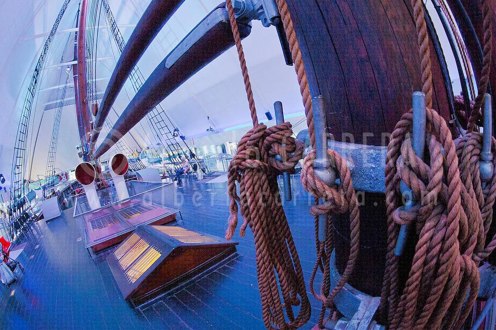 Alberto Carrera, Fram Ship, Fram Museum, Bygd&oslash;y Peninsula, Oslo's Museum Island, Oslo, Norway, Europe<br /> <br /> EDITORIAL USE ONLY