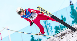13.02.2016, Vikersundbakken, Vikkersund, NOR, FIS Weltcup Ski Sprung, Vikersund, Skifliegen, im Bild Piotr Zyla (POL) // Piotr Zyla of Poland during the Vikersund Ski Flying of FIS Ski Jumping Worldcup Cup at the Vikersundbakken in Vikkersund, Norway on 2016/02/13. EXPA Pictures © 2016, PhotoCredit: EXPA/ Tadeusz Mieczynski