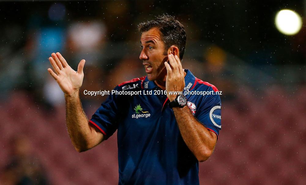 Super Rugby Pre Season Match - Queensland Reds v Canterbury Crusaders at Ballymoore Brisbane -  6 February 2015 <br /> Reds' coach Richard Graham<br /> Jason O'Brien / www.photosport.nz