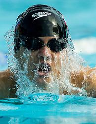 Anze Fers Erzen of PK Ilirija competes in 200m Breaststroke during Slovenian Swimming National Championship 2014, on August 3, 2014 in Ravne na Koroskem, Slovenia. Photo by Vid Ponikvar / Sportida.com