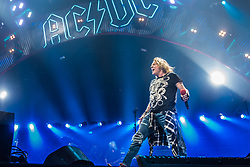 September 9, 2016 - Auburn Hills, Michigan, U.S - AXL ROSE of AC/DC performing on the Rock or Bust World Tour at the Palace of Auburn Hills in Auburn Hills, MI on September 9th 2016 (Credit Image: © Marc Nader/ZUMA Wire)