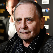 Sylvester McCoy Arrivers at Premiere of documentary about the British film production company, Handmade Films, created by George Harrison of the Beatles on 27 March 2019, London, UK.