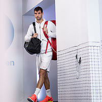 Grigor Dimitrov of Bulgaria on day ten of the 2017 Australian Open at Melbourne Park on January 25, 2017 in Melbourne, Australia.<br /> (Ben Solomon/Tennis Australia)