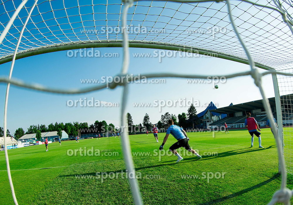 Nejc Vidmar during practice session of Slovenian National Football Team before Euro 2016 Qualifications match against England, on June 10, 2015 in Kranj, Slovenia. Photo by Vid Ponikvar / Sportida