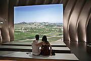 """The """" cité du vin """" opened in June 2016, offers multi-media experience to understand the culture associated with wine"""