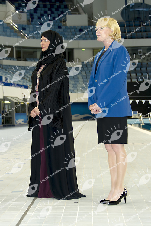 Al Shamsi Seaman<br /> FINA/NVD Diving World Series 3 m. Synchro <br /> Hamdan Bin Rashid Bin Mohammed Sport Complex<br /> Dubai 19 - 21  March 2015<br /> Day 1 - March 19 th <br /> Photo Giorgio Scala / Deepbluemedia