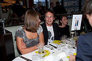 GILLIAN LACEY-SOLYMAR; RICHARD REED, Literary charity First Story fundraising dinner. Cafe Anglais. London. 10 May 2010. *** Local Caption *** -DO NOT ARCHIVE-© Copyright Photograph by Dafydd Jones. 248 Clapham Rd. London SW9 0PZ. Tel 0207 820 0771. www.dafjones.com.<br /> GILLIAN LACEY-SOLYMAR; RICHARD REED, Literary charity First Story fundraising dinner. Cafe Anglais. London. 10 May 2010.
