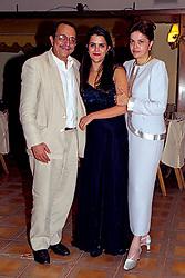 Jantar da formatura da Paula Rousseff, filha de Dilma Rousseff e Carlos Araújo, no curso de Direito/PUC, que foi realizado no Bauback. 2001 e 2002