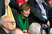 Delia Smith during the Premier League match between Bournemouth and Norwich City at the Vitality Stadium, Bournemouth, England on 19 October 2019.