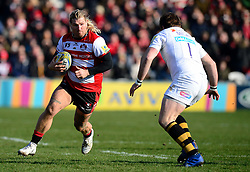 James Hanson of Gloucester Rugby - Mandatory by-line: Alex James/JMP - 24/02/2018 - RUGBY - Kingsholm - Gloucester, England - Gloucester Rugby v Wasps - Aviva Premiership