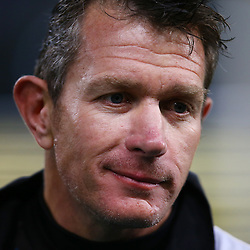 DURBAN, SOUTH AFRICA, 9,JULY, 2016 Ryan Strudwick (Assistant Coach) of the Cell C Sharks during The Cell C Sharks vs Toyota Cheetahs  Super Rugby Match at Growthpoint Kings Park in Durban, South Africa. (Photo by Steve Haag)<br /> <br /> images for social media must have consent from Steve Haag