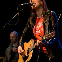 Thea Gilmore plays at Delamere Forest, Cheshire, UK supporting The Zutons as part of the Forest Tour 2008