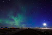 Another solar storm washed over the Northern Hemishere tonight and the Northern Lights were clearly visible to the naked eye all around the City of Calgary. It was an amazing sight to see!<br /> <br /> &copy;2014, Sean Phillips<br /> http://www.RiverwoodPhotography.com