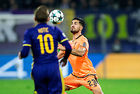 MARIBOR, SLOVENIA - OCTOBER 17: Emre Can of Liverpool FC during UEFA Champions League 2017/18 group E match between NK Maribor and Liverpool FC at Stadium Ljudski vrt, on October 17, 2017 in Maribor, Slovenia. (Photo by Vid Ponikvar / Sportida)