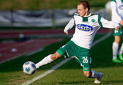 Davor Skerjanc of Olimpija  at 18th Round of PrvaLiga football match between NK Olimpija and NK Labod Drava, on November 21, 2009, in ZAK, Ljubljana, Slovenia. Olimpija defeated Drava 3:0. (Photo by Vid Ponikvar / Sportida)