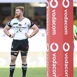 DURBAN, SOUTH AFRICA - MARCH 10: Edward Quirk of the HITO-Communications Sunwolves during the Super Rugby match between Cell C Sharks and Sunwolves at Jonsson Kings Park Stadium on March 10, 2018 in Durban, South Africa. (Photo by Steve Haag/Gallo Images)