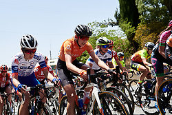Leigh Ann Ganzar (USA) at Stage 2 of 2020 Santos Women's Tour Down Under, a 114.9 km road race from Murray Bridge to Birdwood, Australia on January 17, 2020. Photo by Sean Robinson/velofocus.com