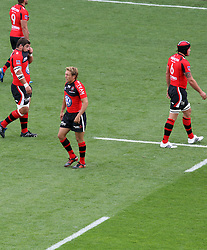 Jonny Wilkinson of Toulon during the French Top 14 Semi Final match between ASM Clermont Auvergne and RC Toulon at the Stade Municipal on June 3, 2012 in Toulouse, France.