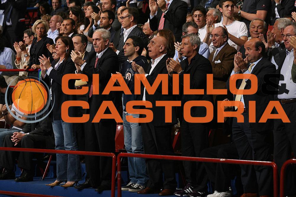DESCRIZIONE : Milano Lega A1 2006-07 Playoff Semifinale Gara 1 Armani Jeans Milano VidiVici Virtus Bologna<br /> GIOCATORE : Parterre Natali Galliani Corbelli Stefanel<br /> SQUADRA : Armani Jeans Milano<br /> EVENTO : Campionato Lega A1 2006-2007 Playoff Semifinale Gara 1<br /> GARA : Armani Jeans Milano VidiVici Virtus Bologna<br /> DATA : 30/05/2007 <br /> CATEGORIA : <br /> SPORT : Pallacanestro <br /> AUTORE : Agenzia Ciamillo-Castoria/M.Marchi