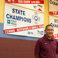 080114      Cayla Nimmo<br /> <br />  Adrian Pete takes over as Athletic Director for Rehoboth High School in the coming school year.