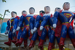 Superman blow up dolls made in China